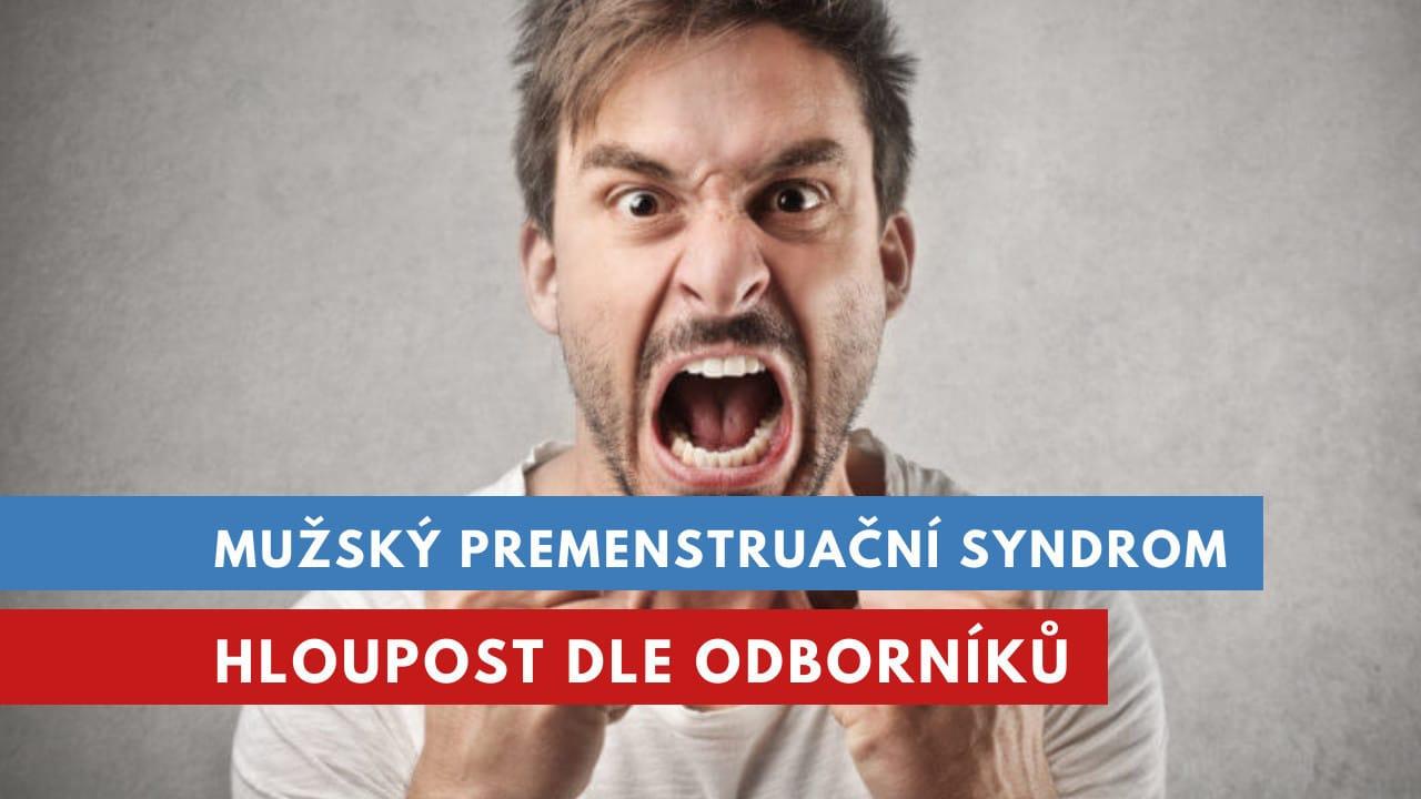 mužský premenstruační syndrom