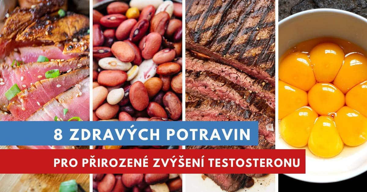 potraviny pro zvýšení testosteronu