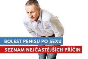 bolest penisu po sexu