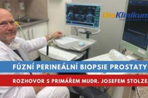 fúzní perineální biopsie prostaty