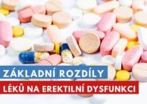 rozdíly mezi léky na erekci