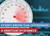 vysoký krevní tlak a erektilní dysfunkce