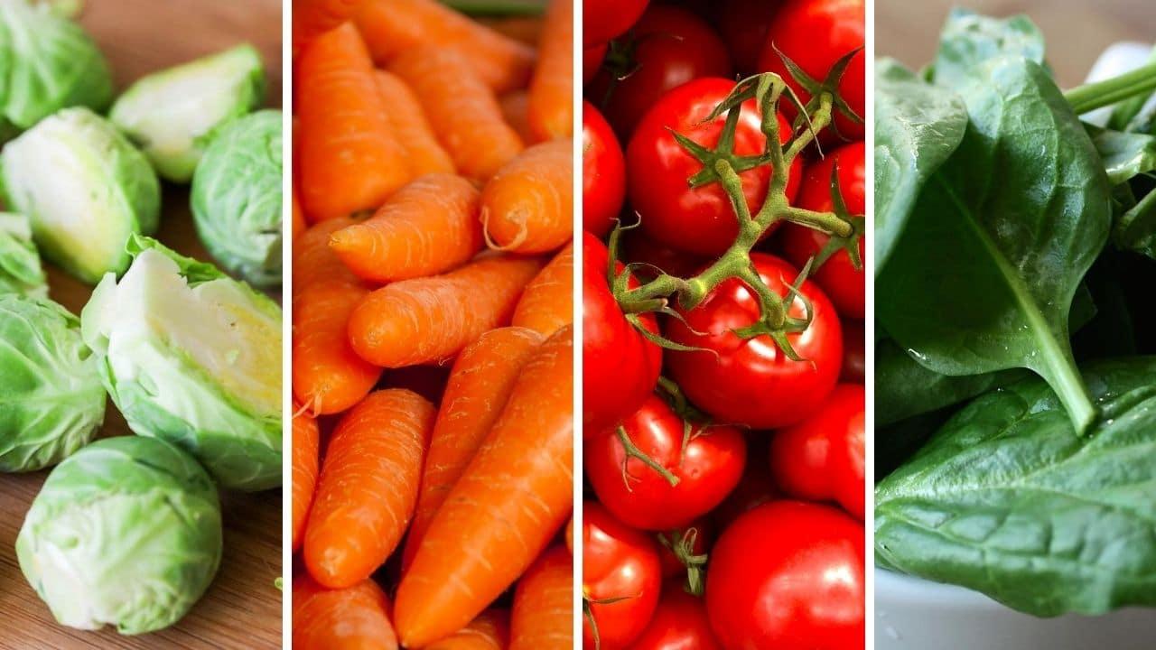 kapusta, mrkev, rajčata a špenát pro podporu libida