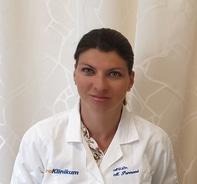 MUDr. Monika Purmová, lékařka z pražské urologické kliniky UroKlinikum