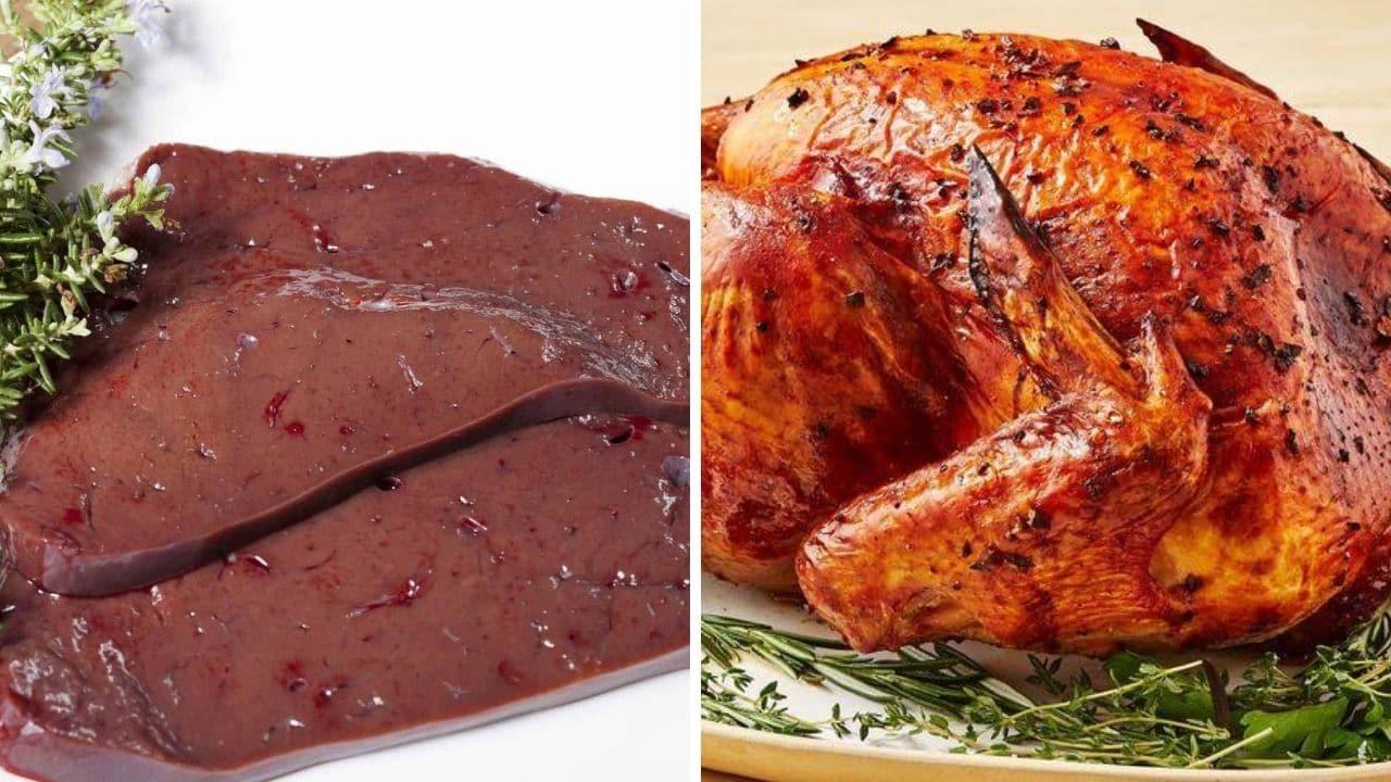 játra a krůtí maso pro podporu libida