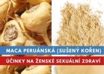 Maca peruánska, účinky na ženy