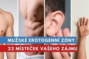 mužské erotogenní zóny
