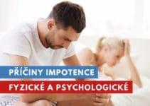příčiny impotence