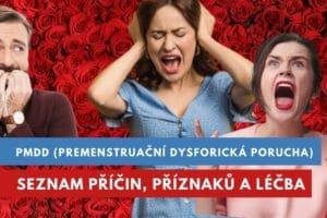 pmdd, premenstruační dysforická porucha