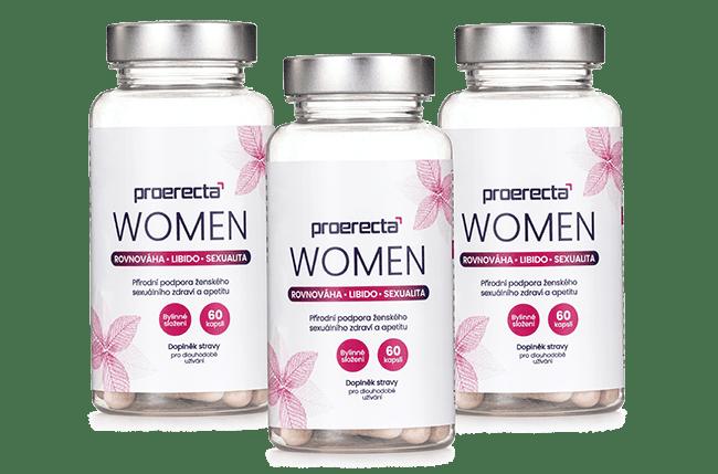 Proerecta WOMEN, 3 balení