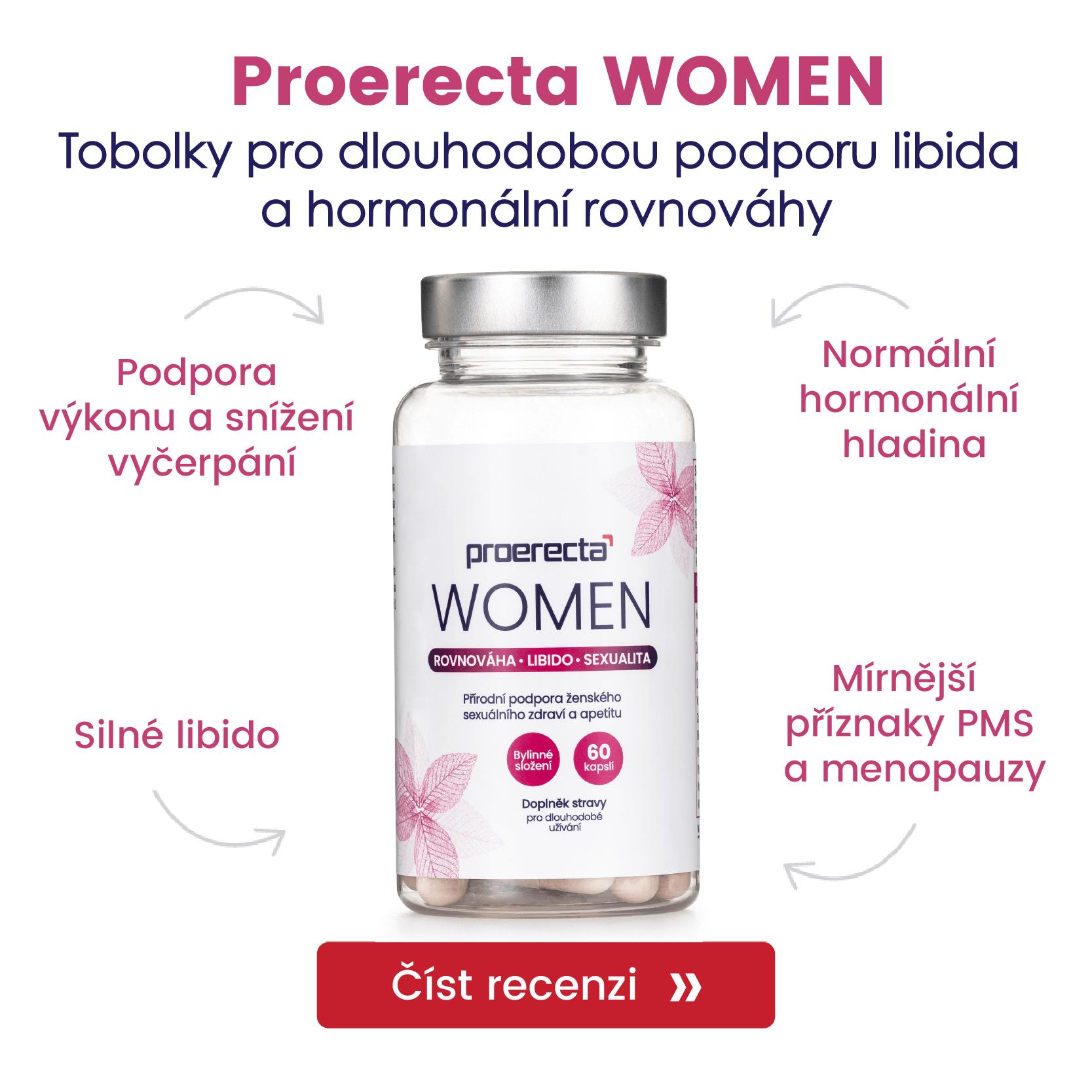 Proerecta WOMEN recenze