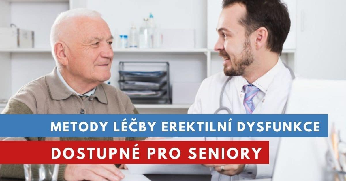léčba erektilní dysfunkce u seniorů