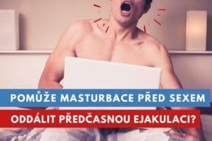 masturbace před sexem