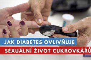 cukrovka a sexuální život