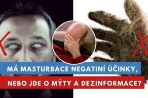 negativní účinky masturbace