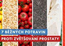 potraviny proti zvětšování prostaty