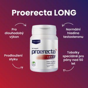 Proerecta LONG pro zvýšení testosteronu