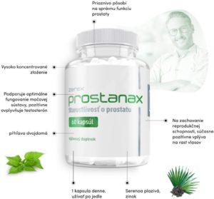 Prostanax, účinky