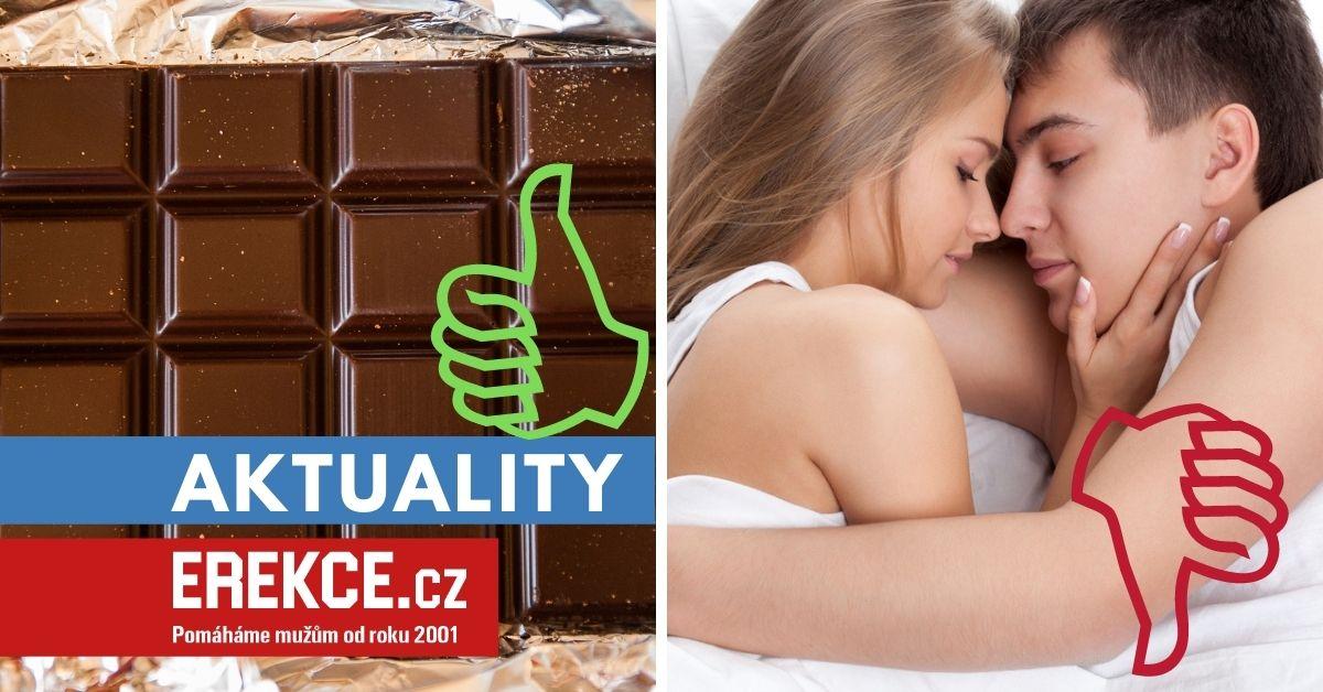 raději čokoláda než sex