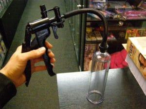 vakuová pumpa Perfect, použití